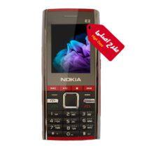 گوشی ساده طرح اصلی نوکیا مدل E2 شرکت FDT