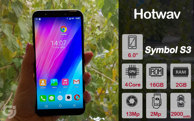 گوشی موبایل Hotwav مدل Symbol S3 دو سیم کارت