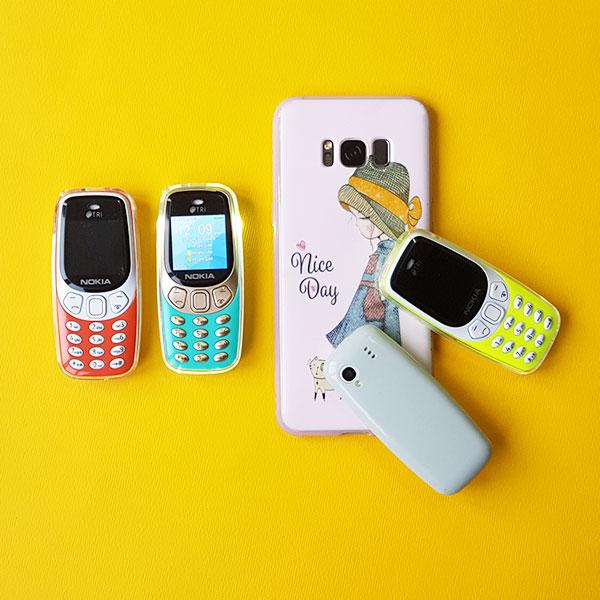 مینی موبایل نوکیا مدل Q3308 Pro سه سیم کارت با قابلیت تغییر صدا