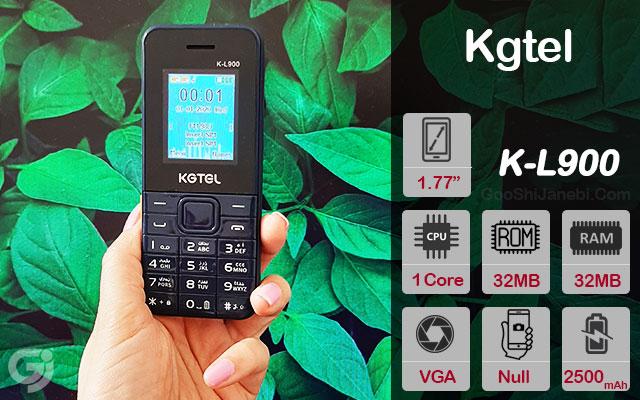 گوشی ساده Kgtel مدل K-L900 دو سیم کارت