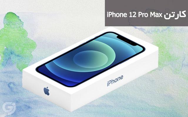 کارتن گوشی اپل iPhone 12 Pro Max