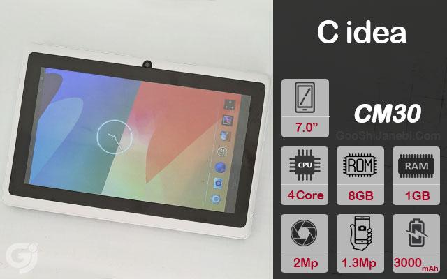 تبلت C idea مدل CM30 وای فای