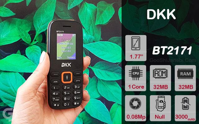 گوشی موبایل ساده DKK مدل BT2171 دو سیم کارت