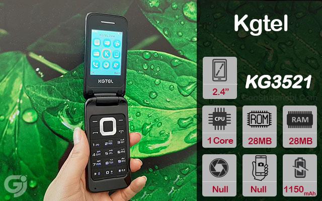 گوشی تاشو ساده Kgtel مدل KG3521