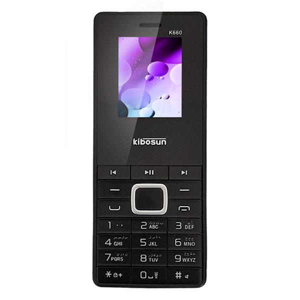 گوشی موبایل ساده Kibosun مدل K660 دو سیم کارت