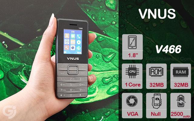 گوشی موبایل ساده ونوس مدل V466 دو سیم کارت